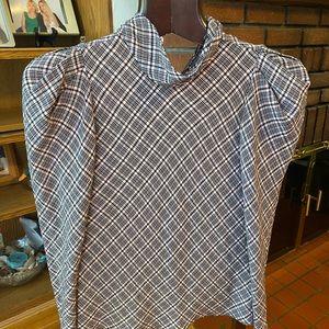 Zara cotton blouse size M